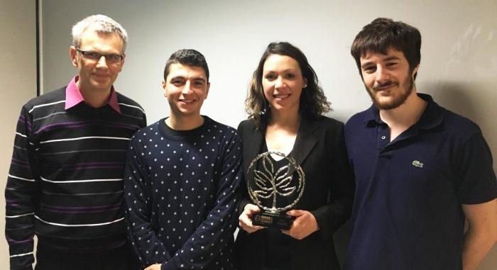 L'innovation issue de 3 PRD avec l'entreprise Rousseau a remporté la médaille d'argent des SIMA Innovation Awards