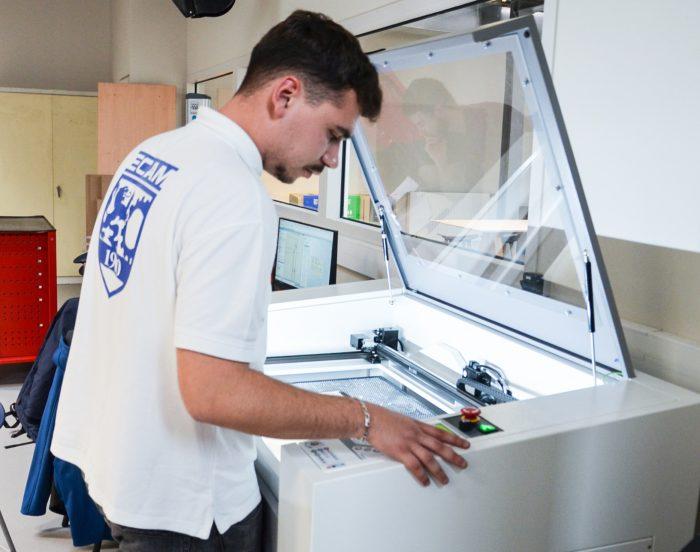 fablab imprimante 3d Cours ingenieur ECAM Lyon