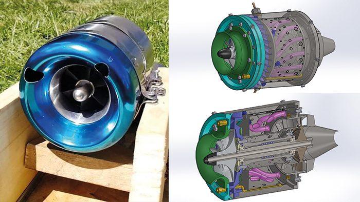 Avion-radiocommandé-turboreacteur-thermique-club-etudiant-ecam-lyon