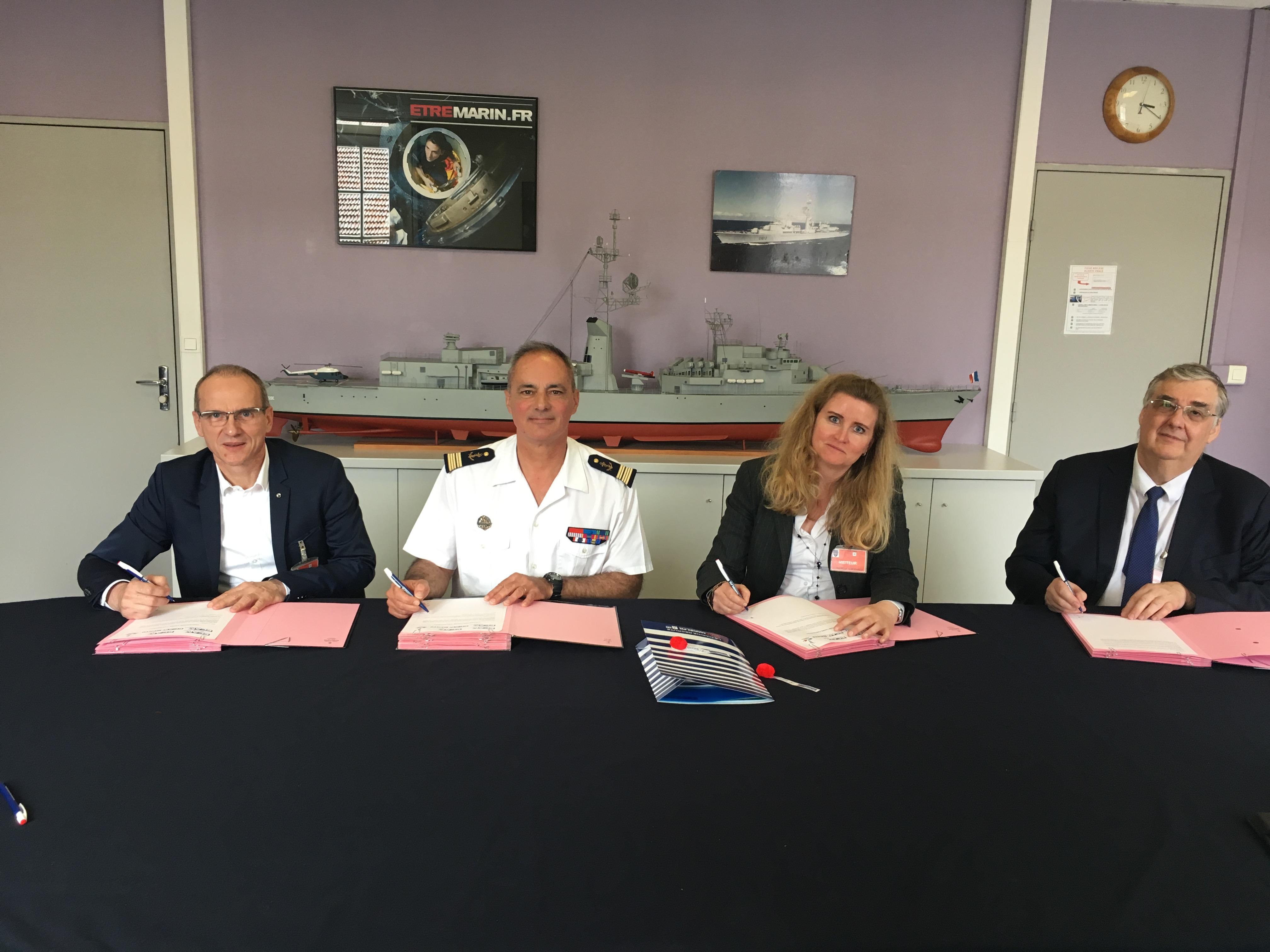 parternariat marine nationale ecam ingenieur
