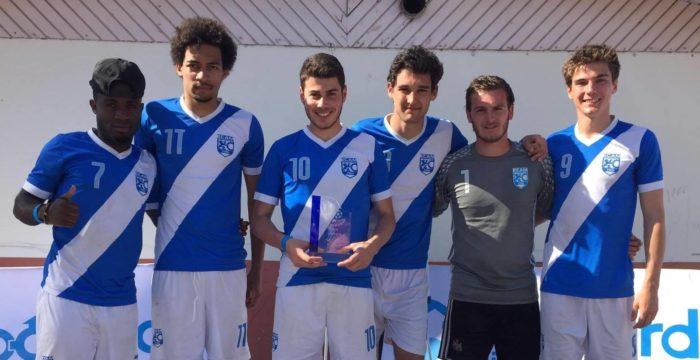 Victoire de l'AS Football ECAM au Boccard's Cup 2016