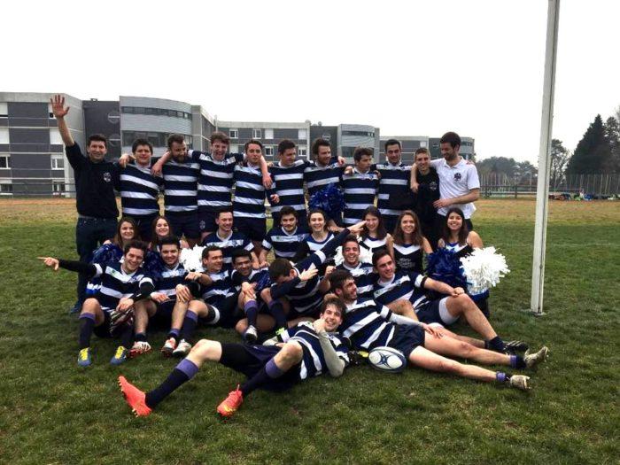 Victoire du XV ECAM au Challenge Centrale 2016