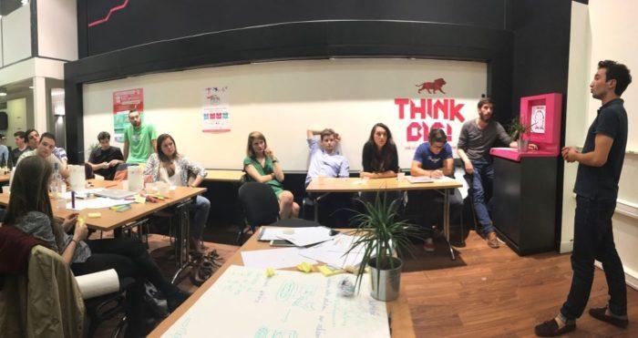 Soirée ECAM Entrepreneurs dans les locaux de la French Tech (mai 2016)