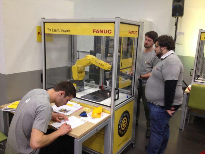 Olympiades robotique FANUC