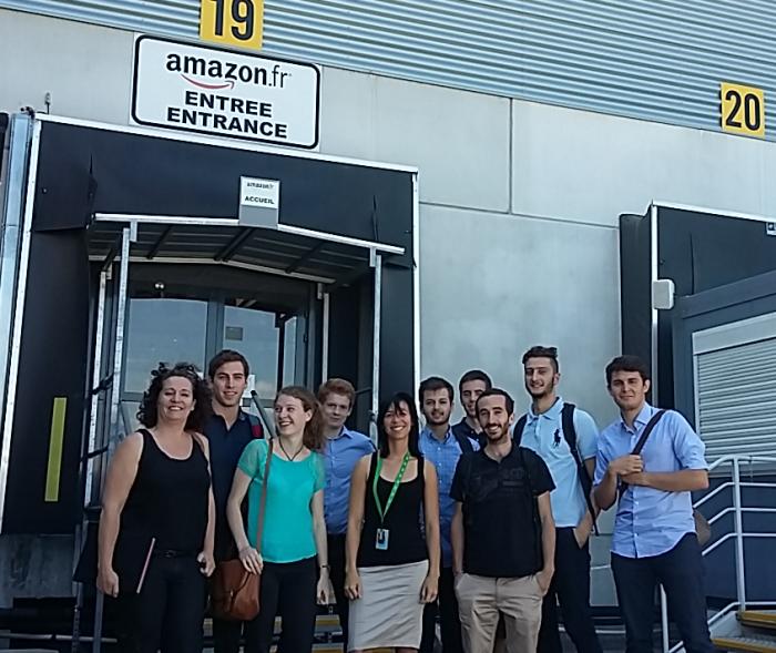 Visite du centre logistique Amazon (Montélimar)